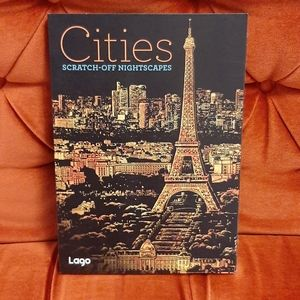 Cities Scratch-Off Nightscapes Art Activity Book